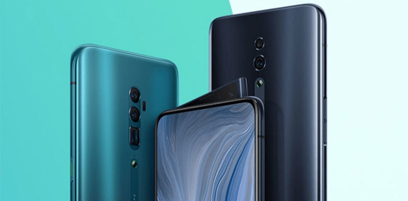 Oppo Reno 10X with shark-fin design pop-up camera launched at Rs 49,990