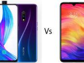 Realme X vs Redmi Note 7 Pro