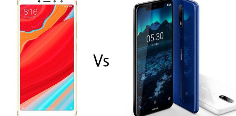 Xiaomi Redmi Y2 vs Nokia 5.1 Plus