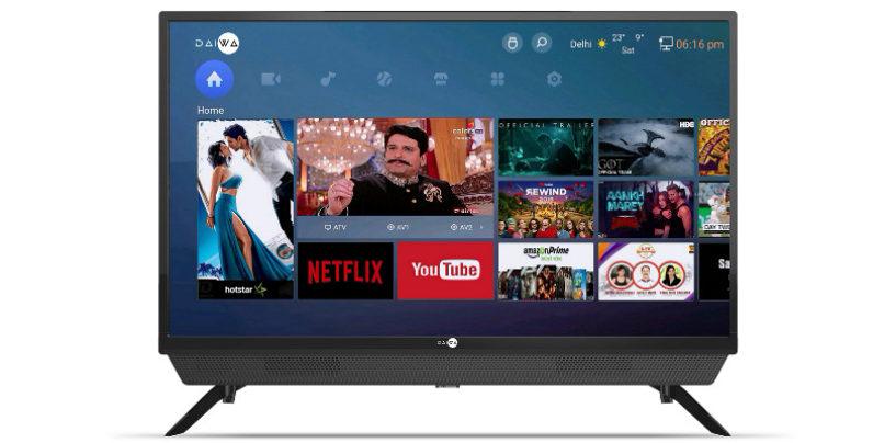Daiwa Announces the launche of 'D32SBAR' Smart LED TV