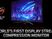 ASUS Launches First Monitor with Display Stream Compression Technology
