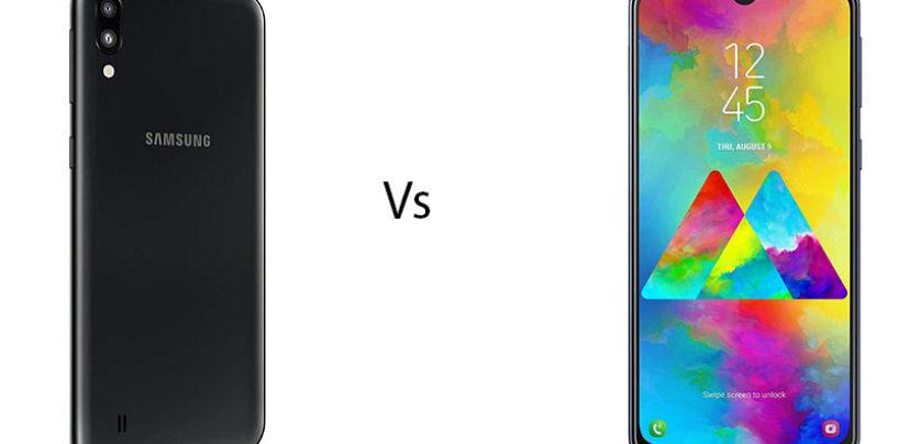 Samsung Galaxy M10 vs Galaxy M20
