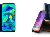 Samsung Galaxy M40 vs Motorola One Vision: Comparison