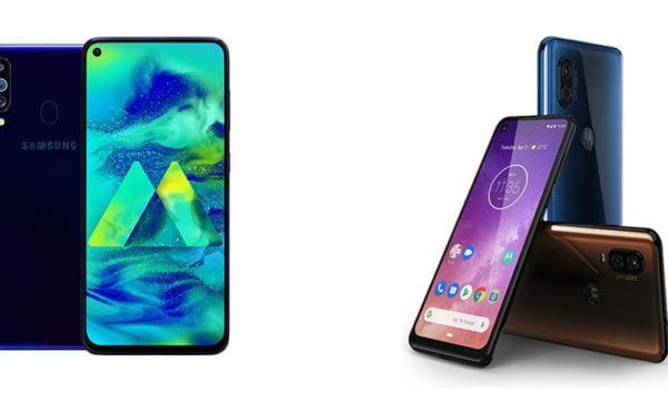 Samsung Galaxy M40 vs Motorola One Vision: Comparison