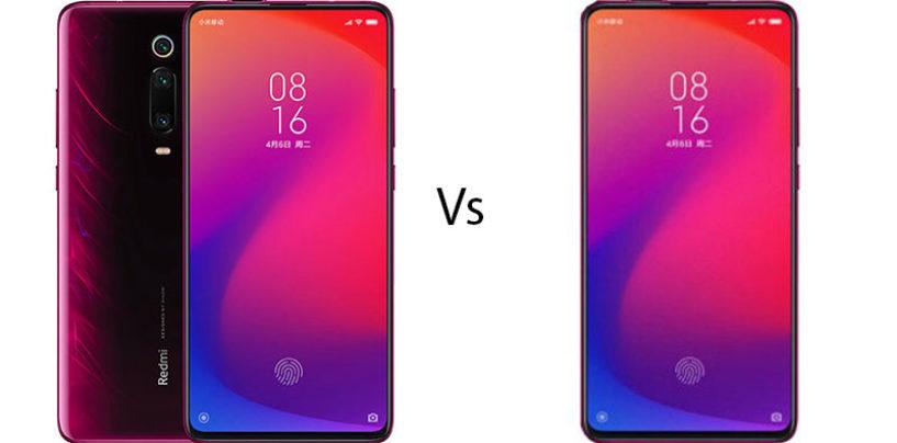 Redmi K20 Pro vs Redmi K20: Comparison