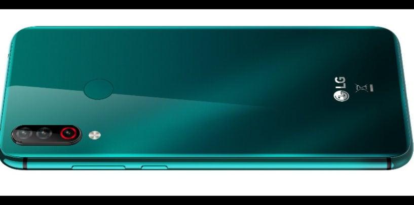 LG  Electronics LAUNCHES W30 AURORA GREEN COLOUR