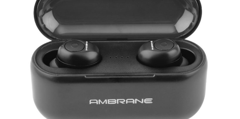 "Ambrane launches True Wireless Bluetooth Earbuds ""TruPods ATW-29"""