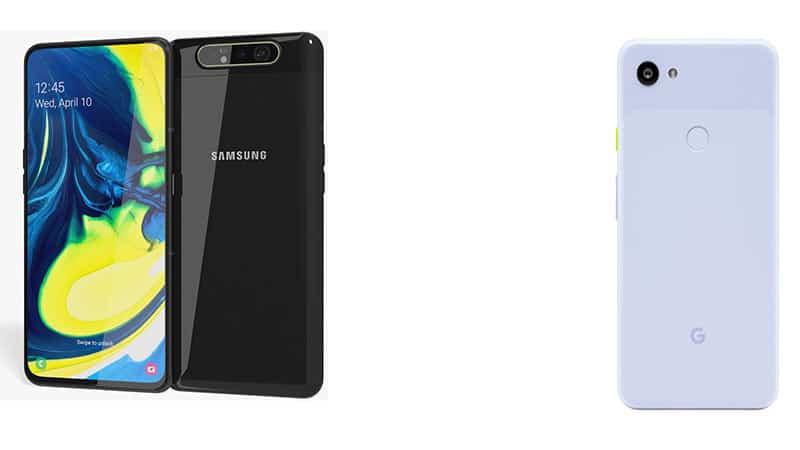 Samsung Galaxy A80 vs Google Pixel 3a XL: Specs Comparison