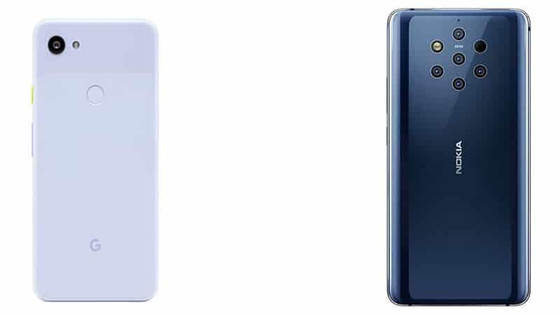 Google Pixel 3a Xl Vs Nokia 9 Pureview Comparison