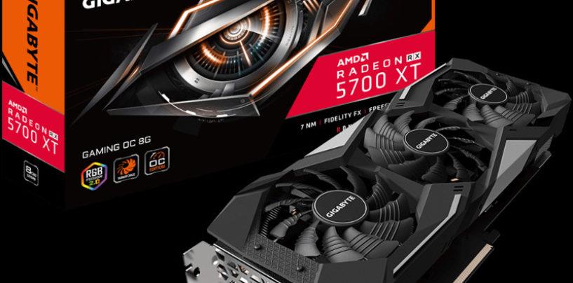 GIGABYTE Unveils Radeon RX 5700 Series Graphics Card