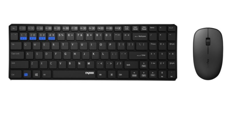 Rapoo introduces '9300M Multi-mode Wireless Keyboard & Mouse Combo'