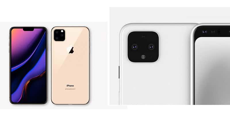 google pixel 4 xl vs iphone 11 pro