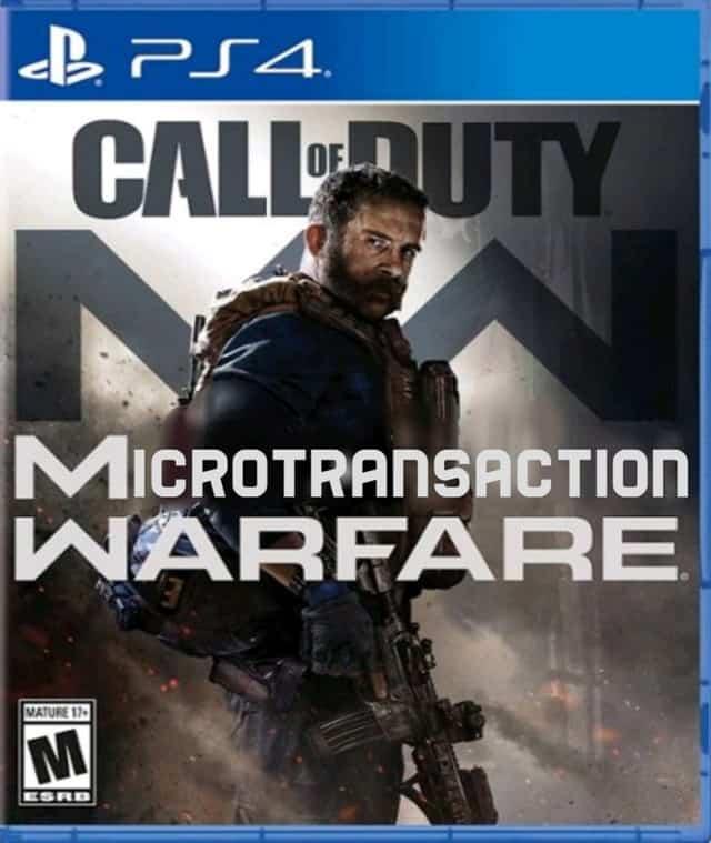 Microtransaction Warfare