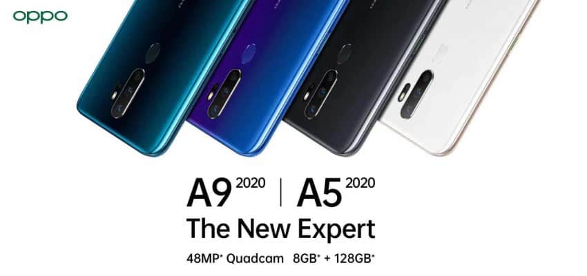 Oppo offers more ranges with the launch of A9 and A5 smartphones