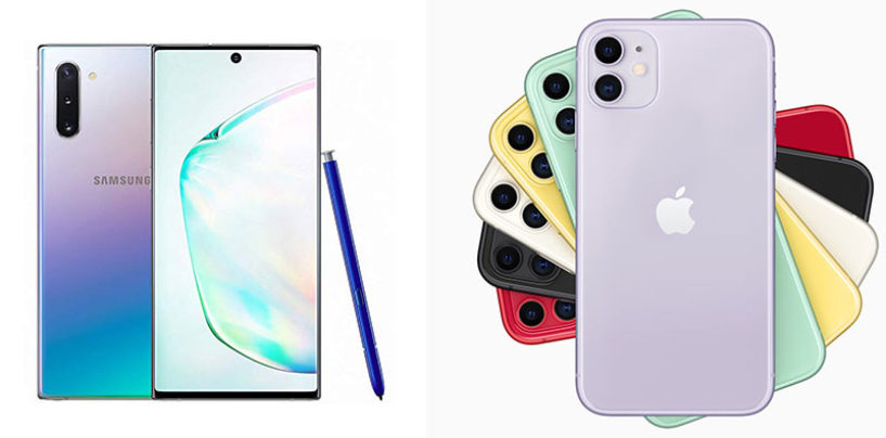 iPhone 11 Pro vs Samsung Galaxy Note 10: Specs Comparison