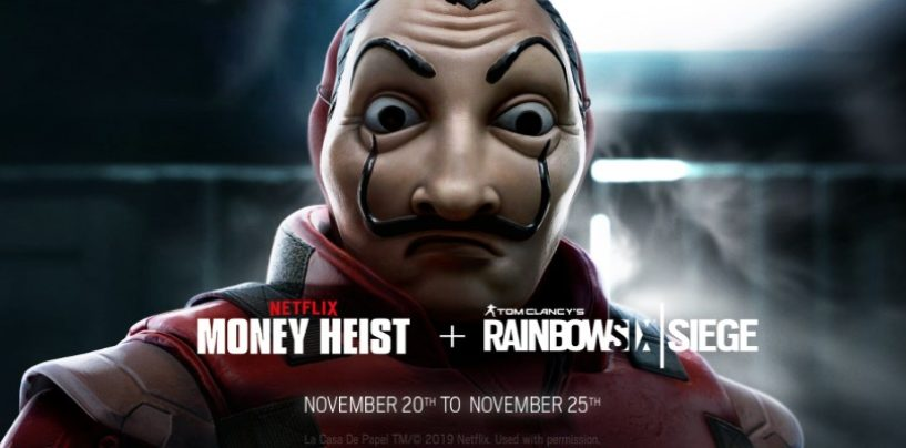 Rainbow Six teams up with Netflix for the Money Heist Event