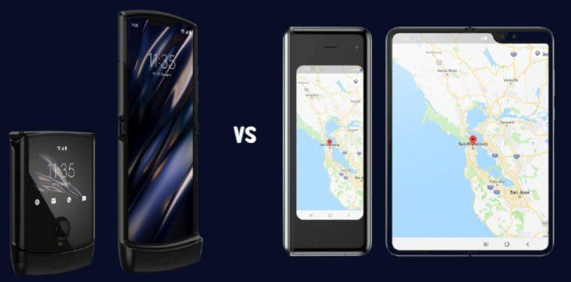 Motorola Razr vs Samsung Galaxy Fold: Which is better?