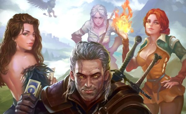 The Witcher anime movie is coming to Netflix