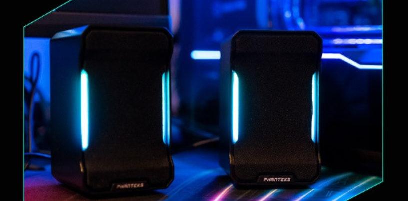 Phanteks launches their RGB speakers