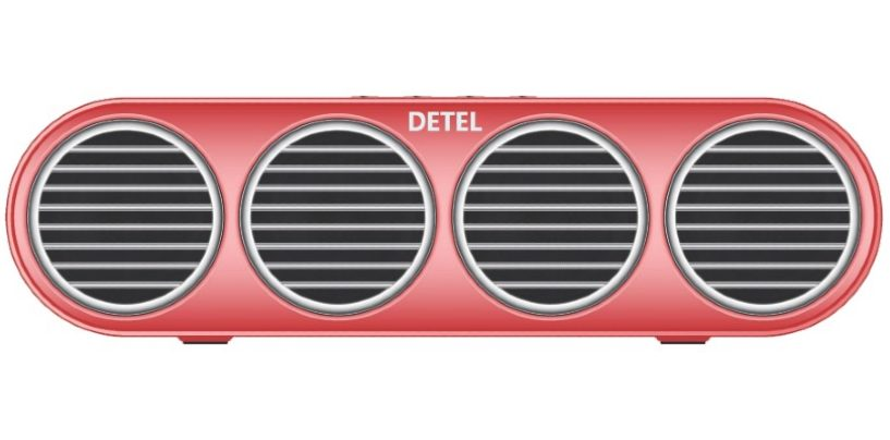 Detel launches Amaze – Truly Wireless Bluetooth Speaker in India