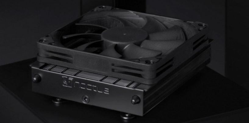 Noctua introduces NH-L9a-AM4 chromax.black CPU cooler