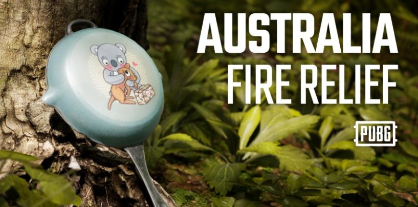 PUBG releases a limited edition Australia Fire Relief Pan skin