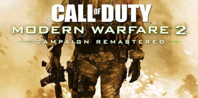 Modern Warfare 2 Remastered Datamine reveals box art and bundle details