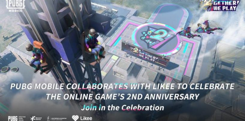 Likee collaborates with PUBG MOBILE to celebrate its 2nd Anniversary