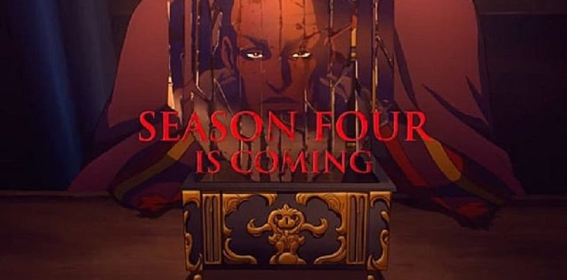 Netflix announces Castlevania Season 4