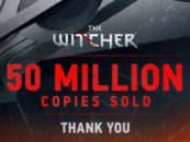 The Witcher series sells 50 million copies