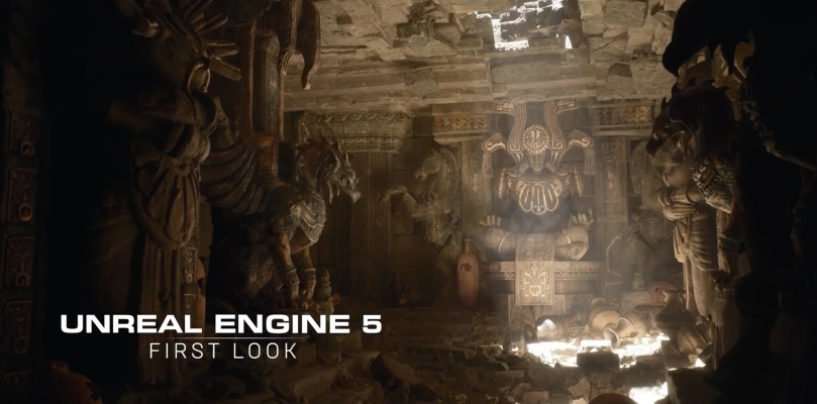 Epic Games Announced The First Look at Unreal Engine 5