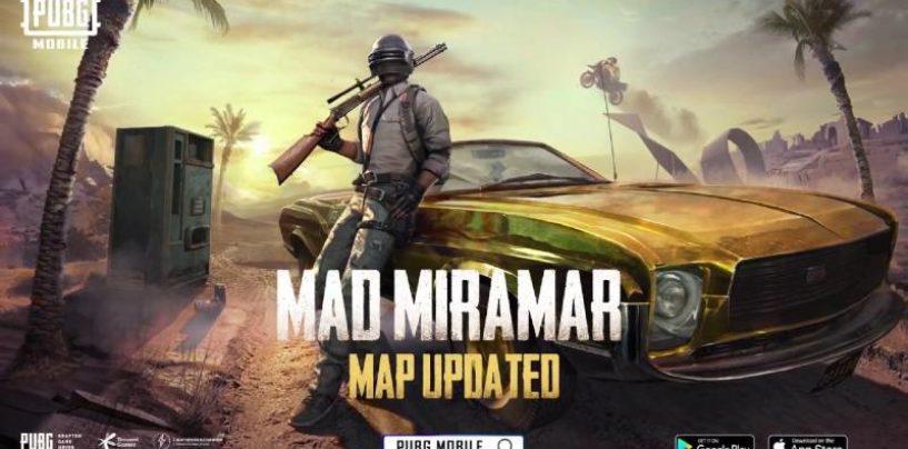 PUBG Mobile Release Updated Miramar Map In Massive 0.18.0 Content Update