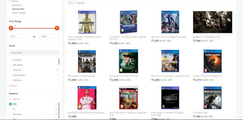 Buying PS4 games from Paytm Mall may ban your PSN account