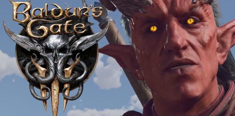 Baldur's Gate 3 gameplay teaser released by Larian
