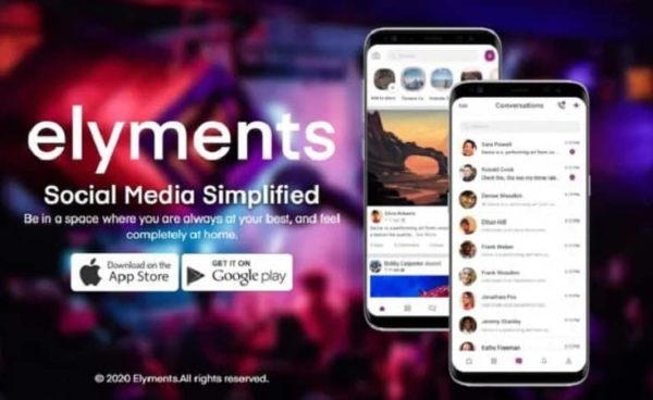 Elyments App- Social Media App Made by Indians for India in Here Now