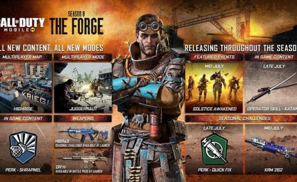 Call of Duty Mobile Season 8 The Forge is Live Now- New Modes, Maps, Events