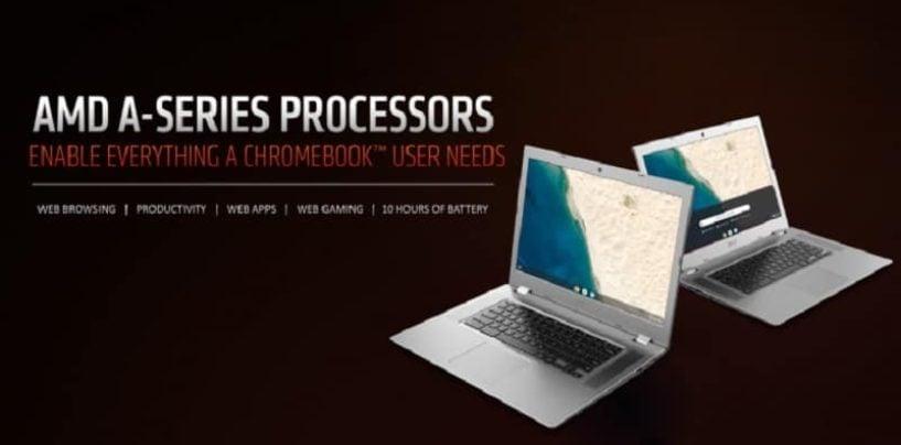AMD Launches Mobile Processors For Chromebooks, Ryzen based Chromebook