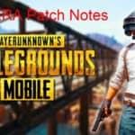 PUBG Mobile Patch Notes