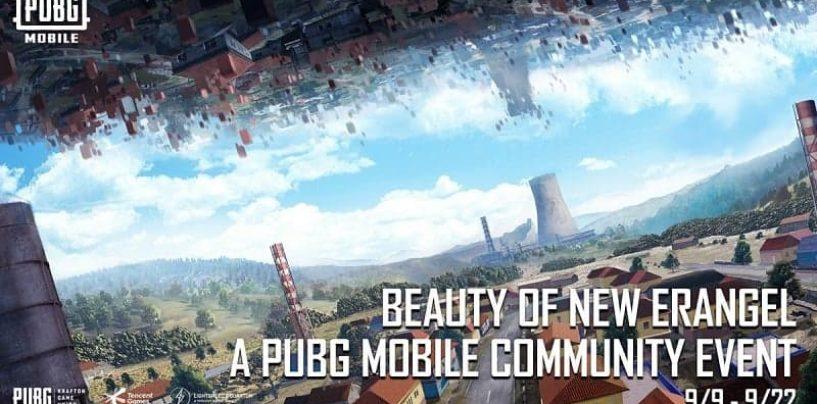 PUBG Mobile Announces New Community Event, Beauty of New Erangel
