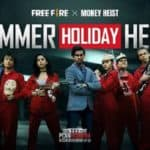 Garena Free Fire Money heist Netflix India