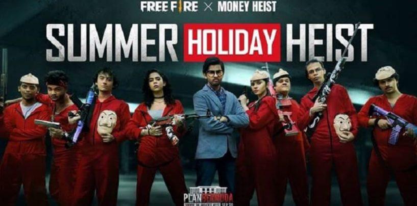 Free Fire x Money Heist, Garena Free Fire Partnership with Netflix