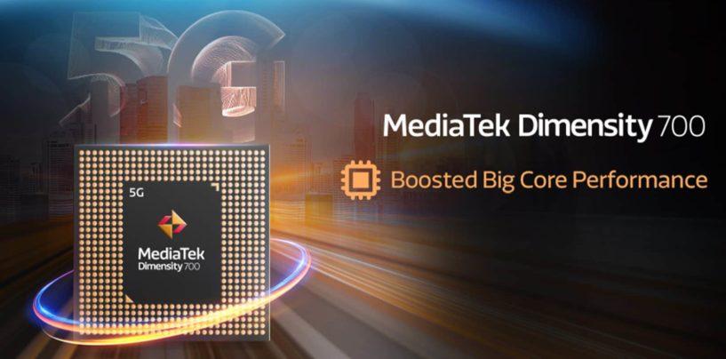 MediaTek Launches Dimensity 700 5G Processor For The Budget Market
