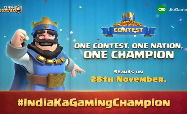 Reliance Jio and Clash Royale to Host a 27-Day Gaming Tournament
