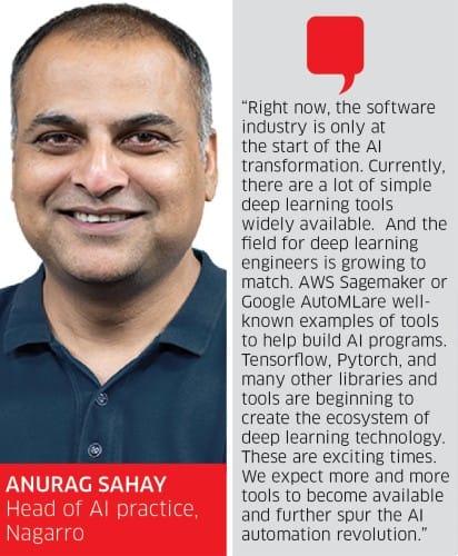 AnurAg Sahay, Head of AI practice, Nagarro
